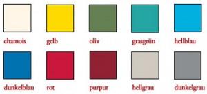 Farben Ausfertigungshefter