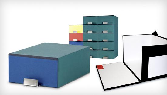 Urkundenkästen und Archivsysteme